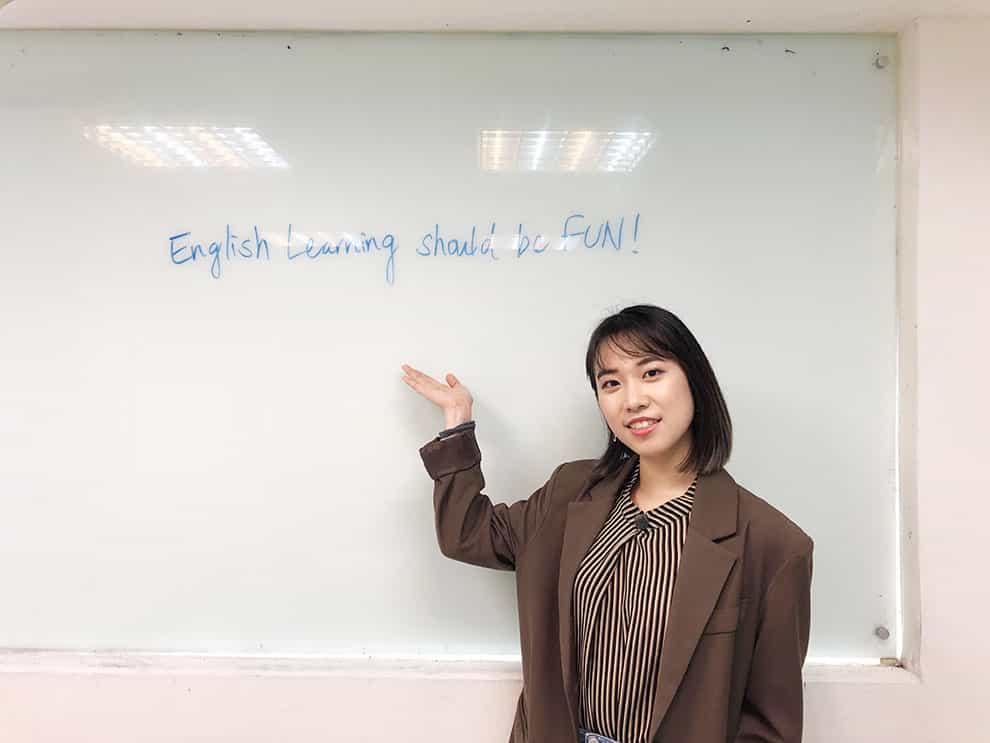 群筑外語優質的教師團隊