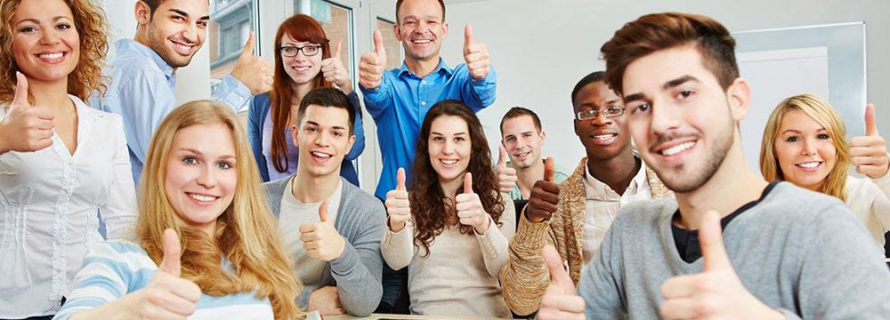 學員感言英文一對一、企業外派課程、成人德文初學班;群筑英日語——外語第一品牌